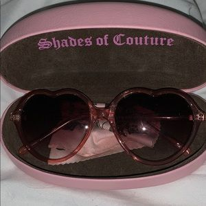 Juicy Couture Heart Sunglasses